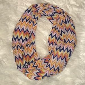 Infinity Chevron Patterned Scarf